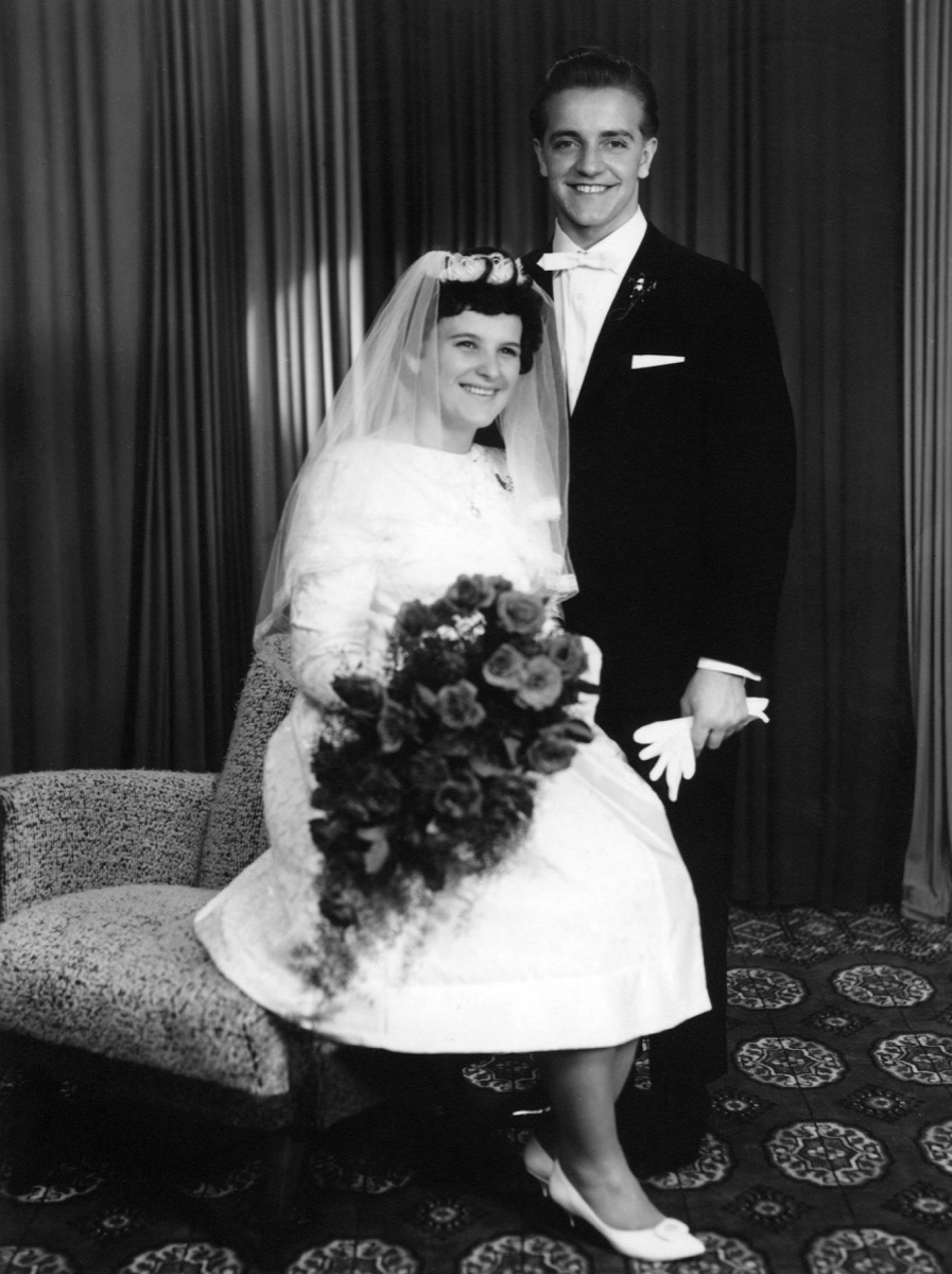 Young Couple Getting Married in the 1960s {Dating 50 Years Ago}
