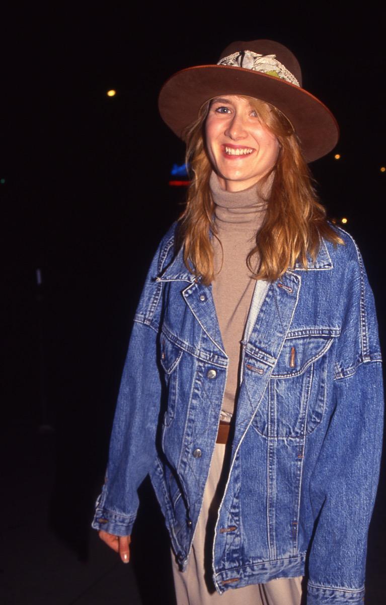 laura dern 1990s, vintage red carpet photos