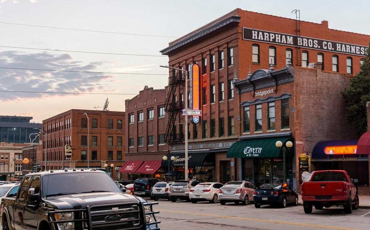 p street in nebraska, most common street names