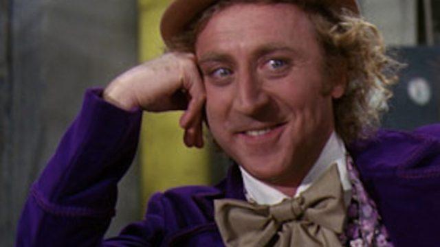 Gene Wilder in Willy Wonka