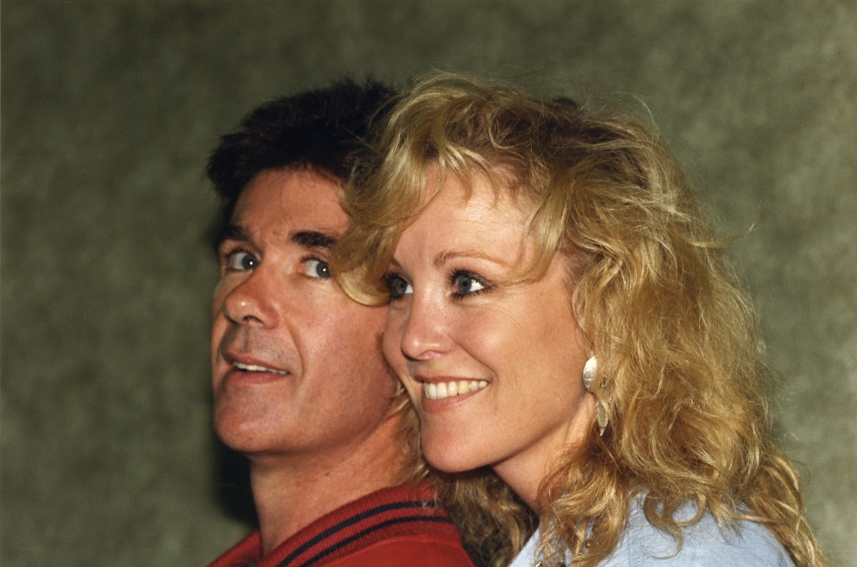 alan thicke and growing pains costar joanna kerns, 1990s, vintage red carpet photos