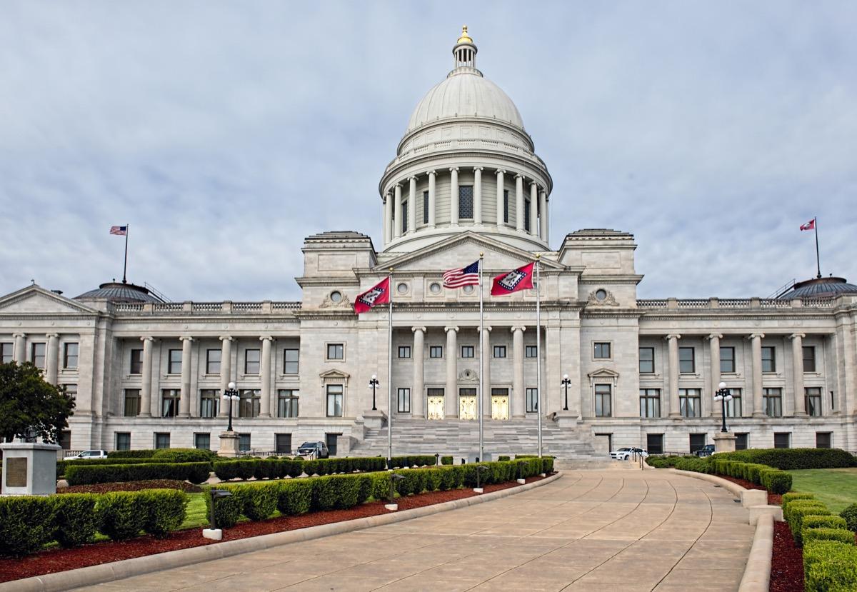 arkansas state capitol buildings