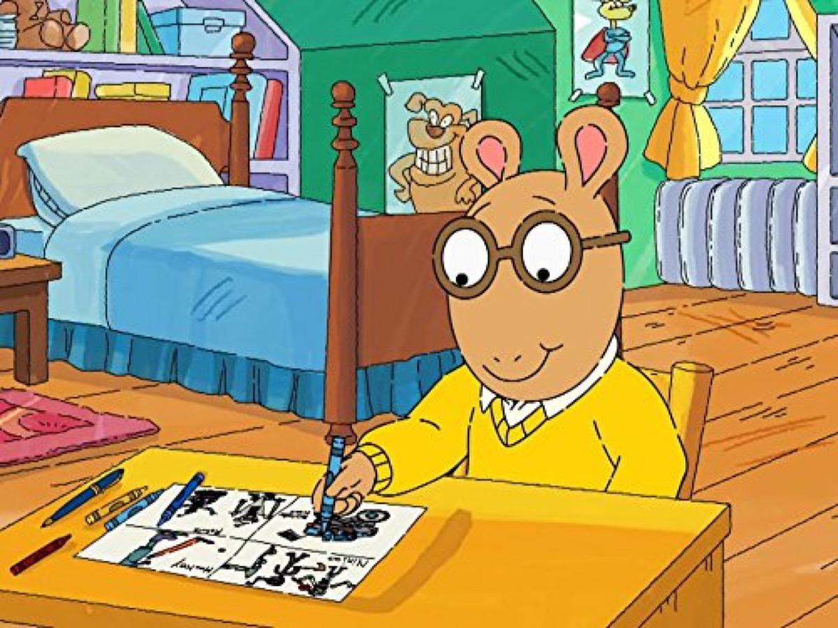 still from the show Arthur