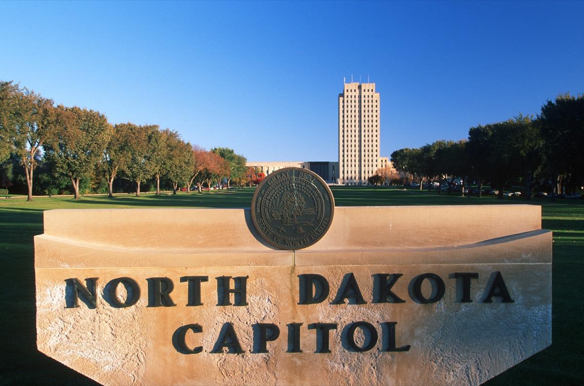bismarck north dakota state capitol buildings
