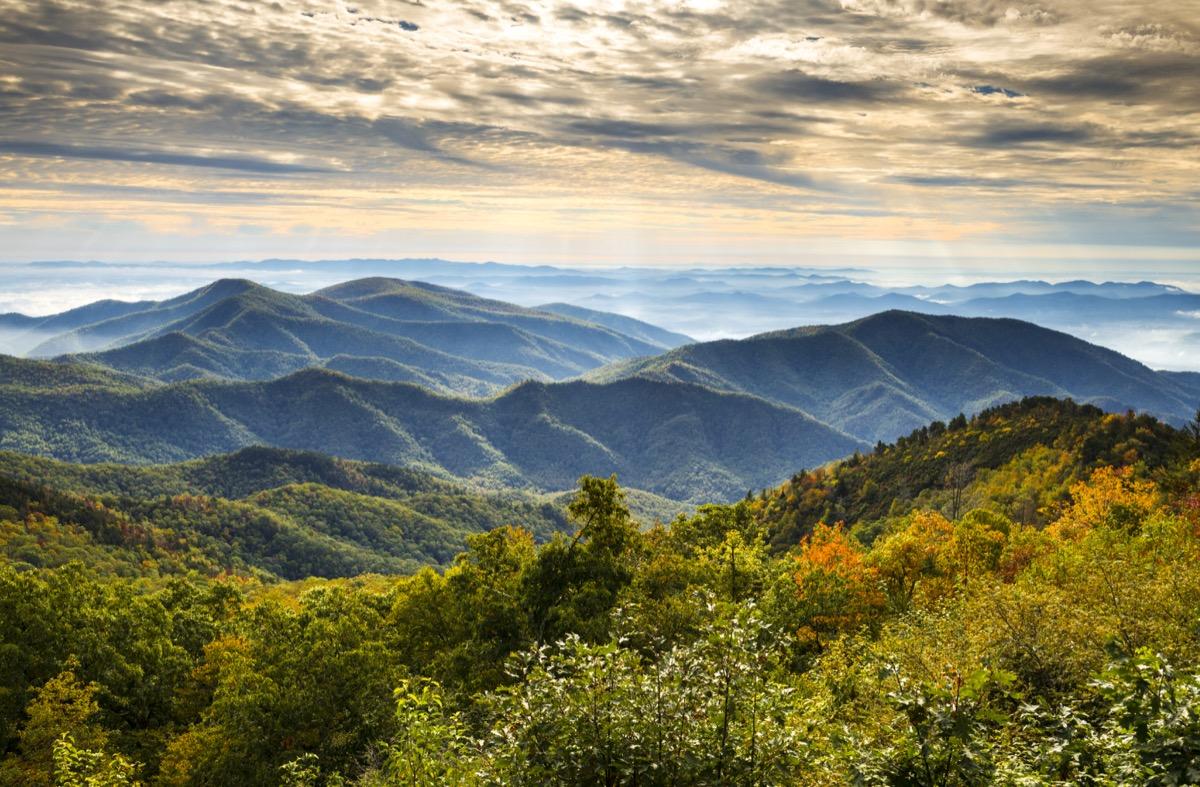 blue ridge north carolina mountains, most common street names