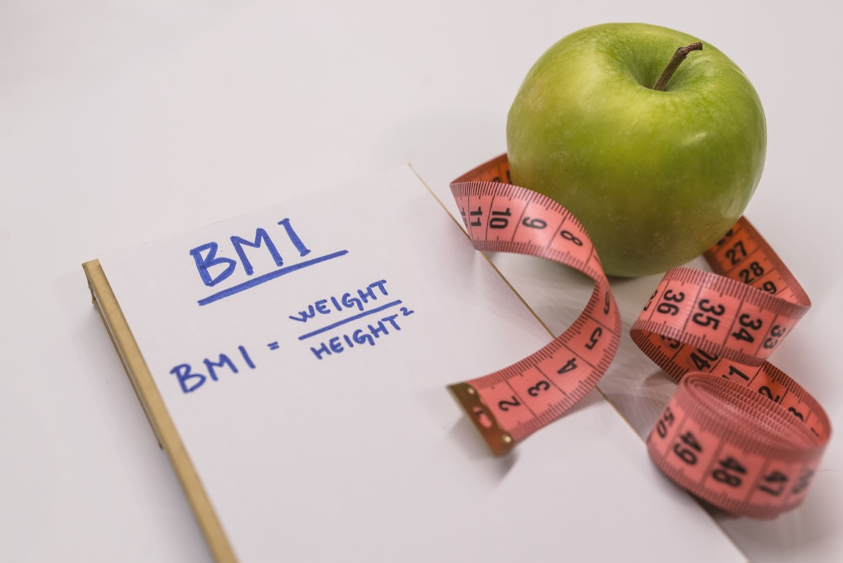 bmi body mass index evaluation, health questions after 40