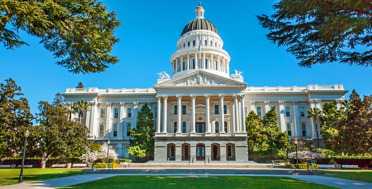 california state capitol buildings