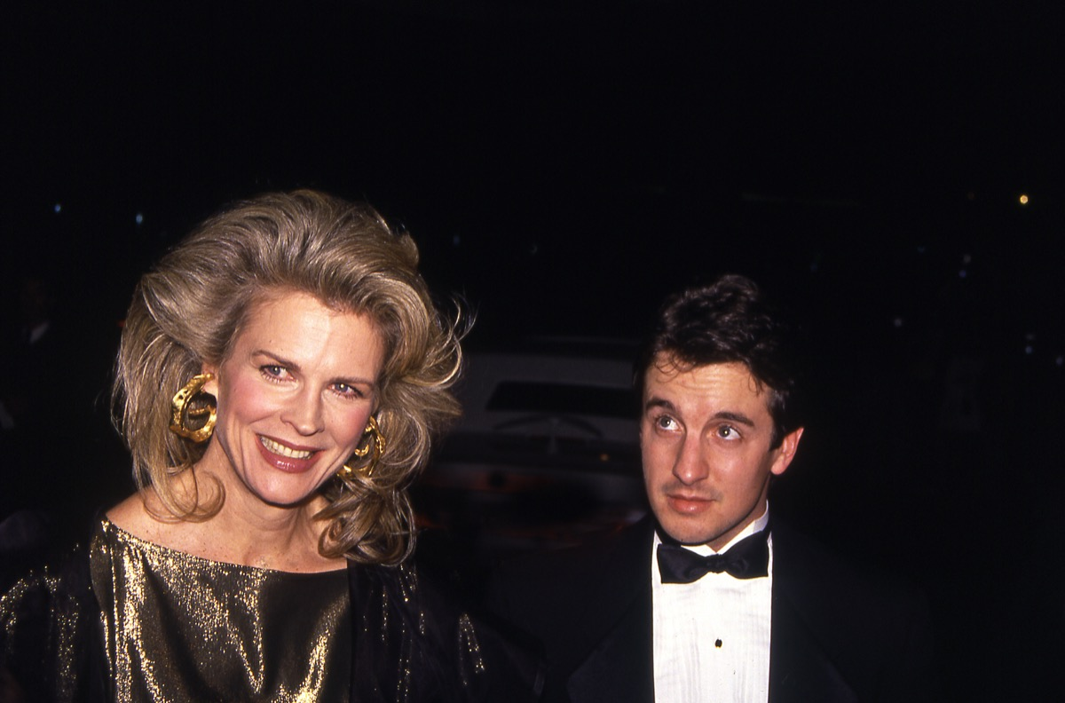candice bergen and grant shaud, 1990s, vintage red carpet photos