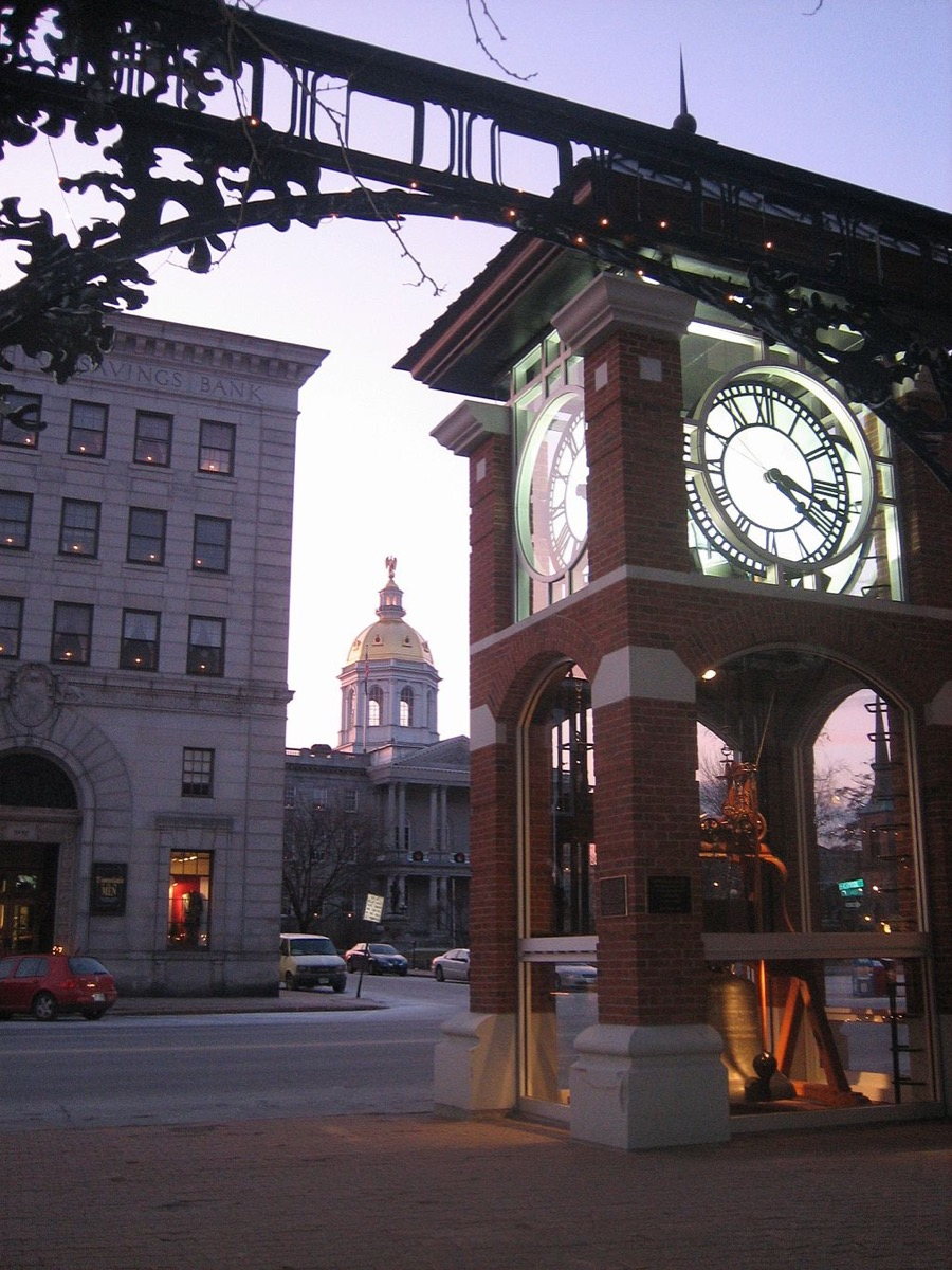 concord new hampshire state capitol buildings
