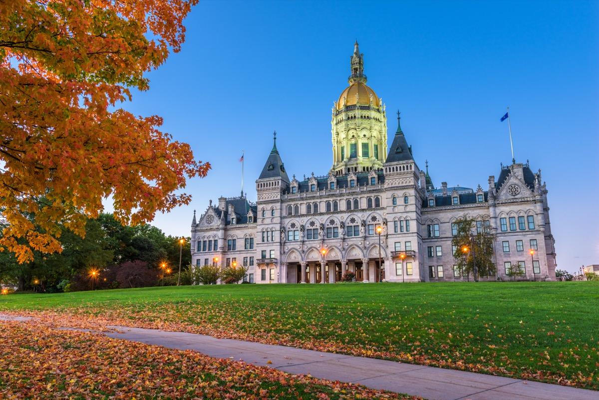 connecticut state capitol buildings