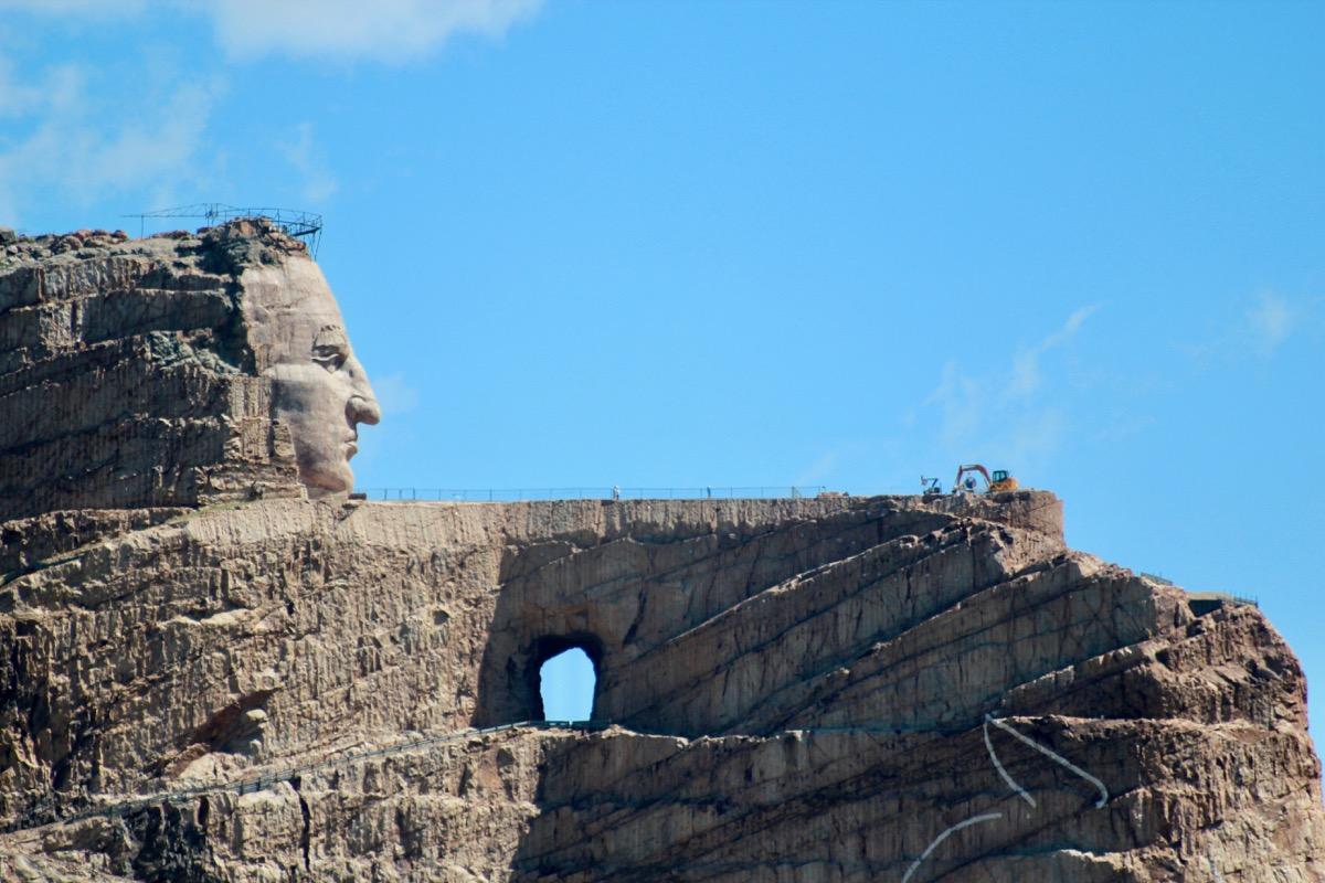 crazy horse memorial in south dakota, iconic state photos