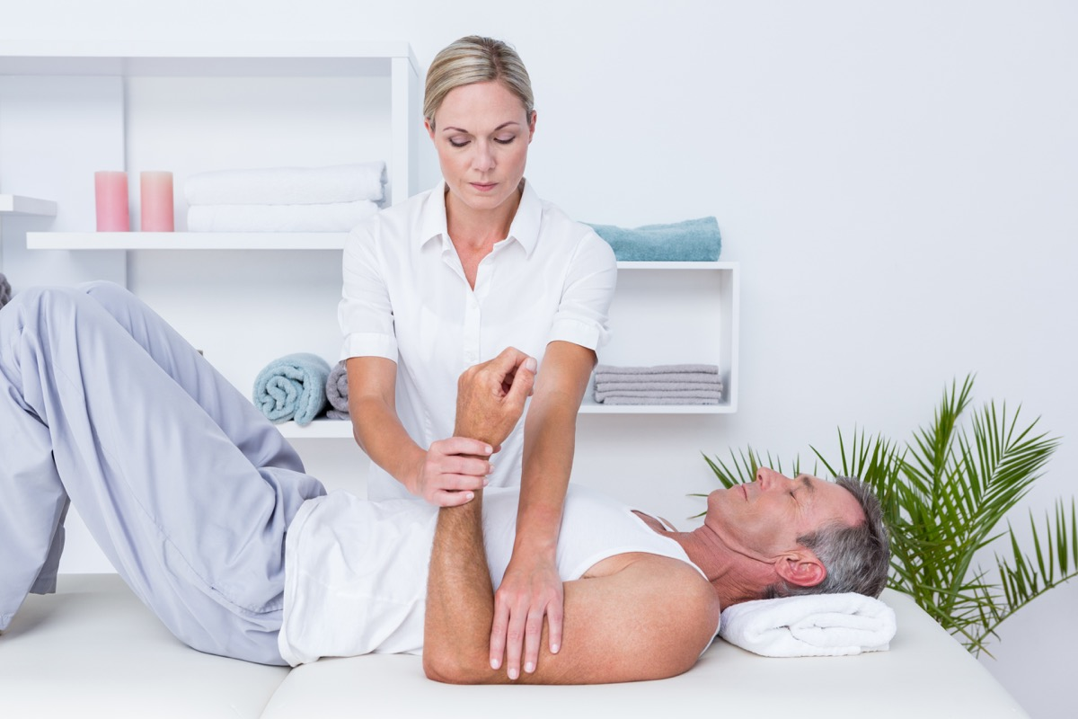 Doctor Examining a Patient on a Table Stop Lying to Your Doctor