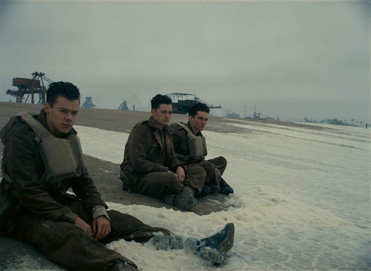 dunkirk movies on rotten tomatoes with the highest ratings