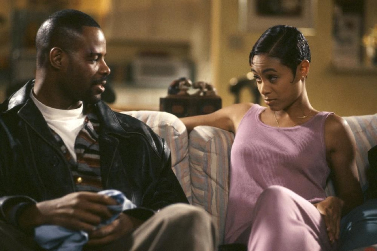 keenen ivory wayans and jada pinkett in a low down dirty shame