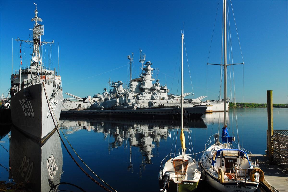 fall river massachusetts battle ship, heart attack cities