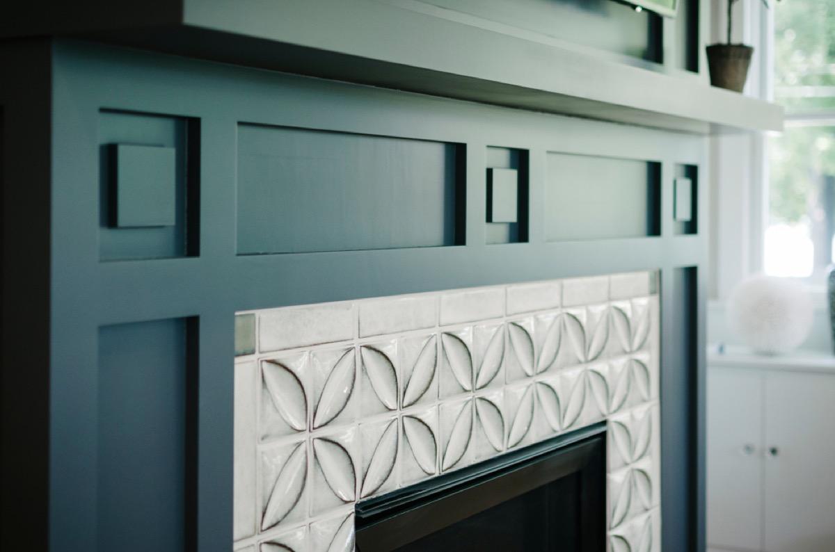 fireplace surround interior design tips