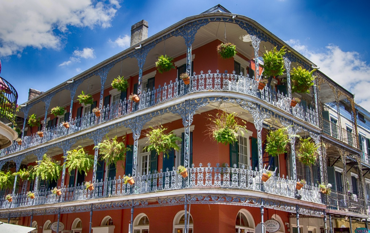 french quarter in louisiana, iconic state photos