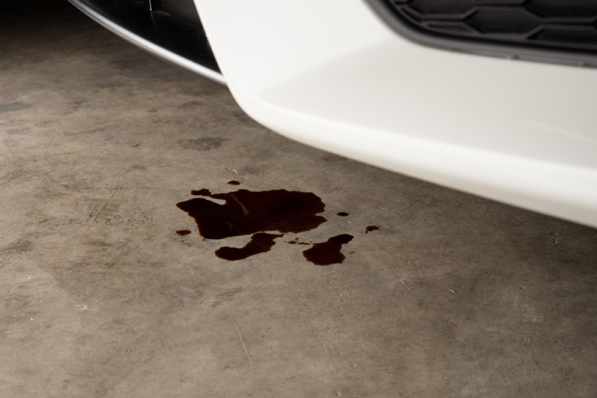 stained garage floor, new uses for cleaning products