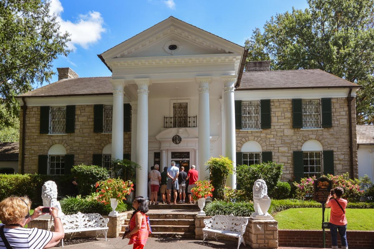 Graceland House Elvis Presley Privately Owned Landmarks