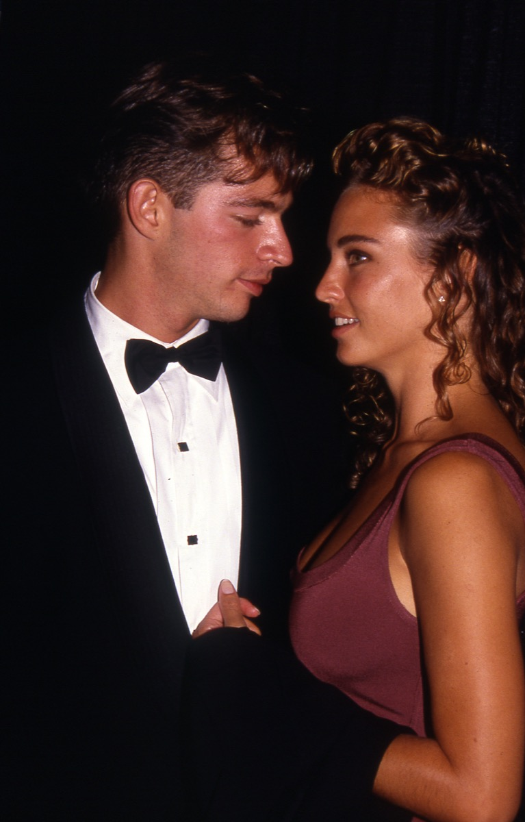 harry connick jr. and wife jill goodacre, vintage red carpet photos