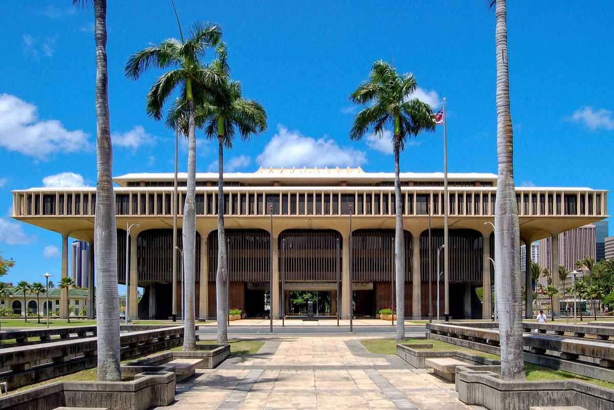 hawaii state capitol buildings