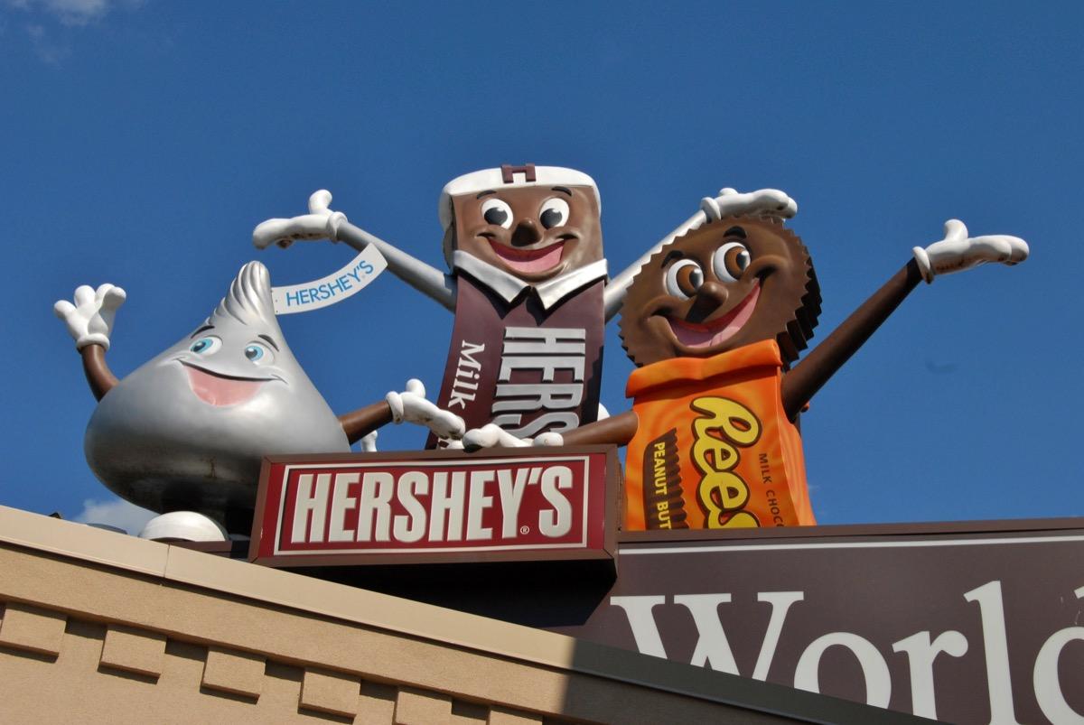 hershey amusement park pennsylvania, iconic state photo