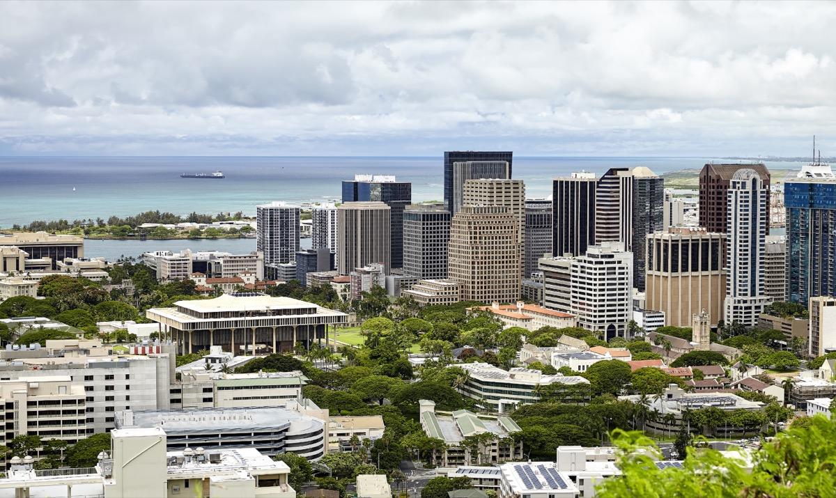 honolulu hawaii state capitol buildings