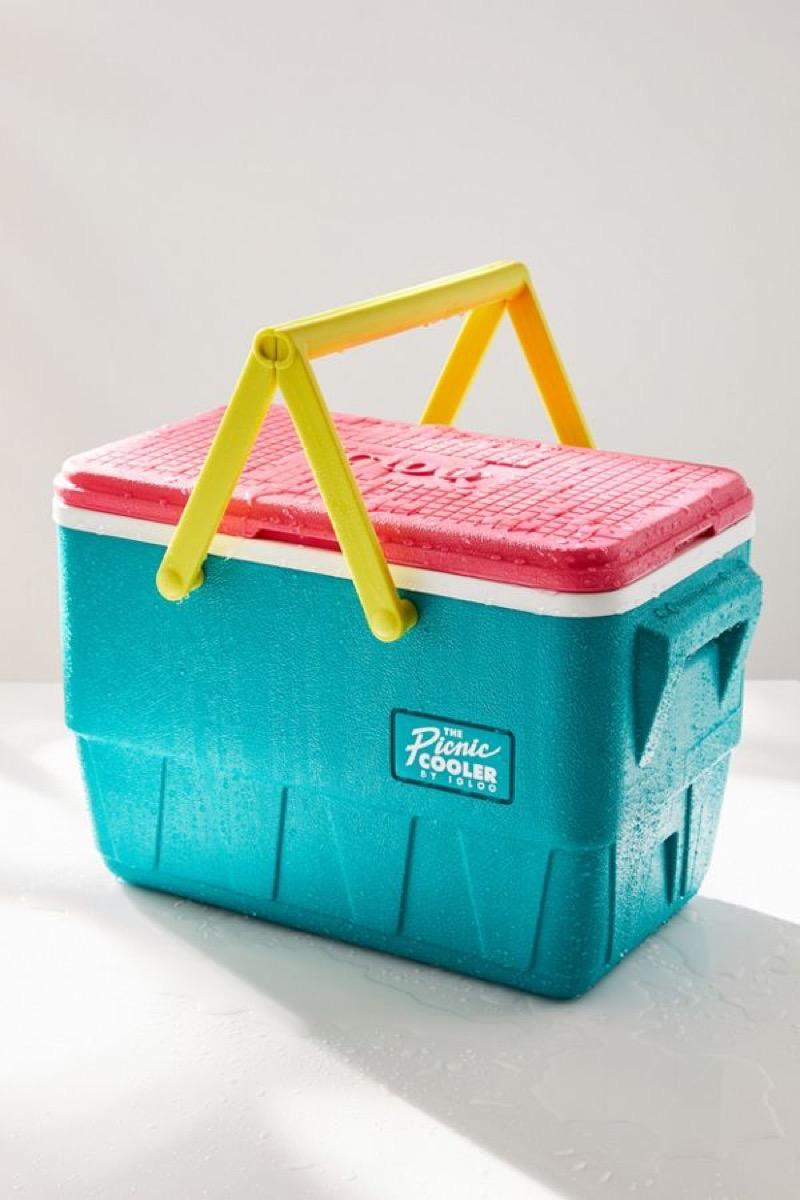 igloo retro-style picnic cooler