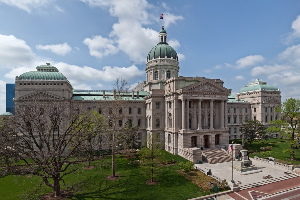 indiana state capitol buildings
