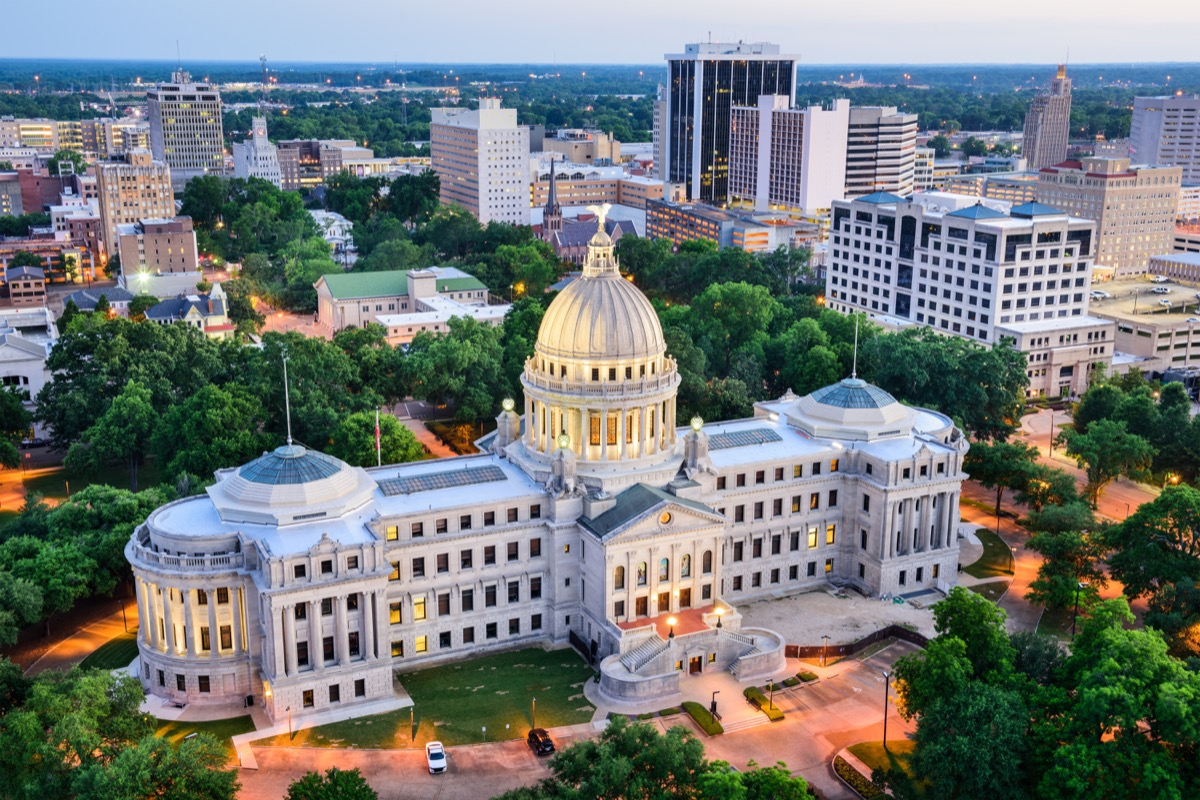 jackson mississippi state capitol buildings