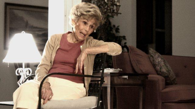 Jewish Grandma Talking Yiddish Words