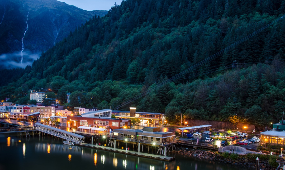 Juneau Alaska state capitol buildings