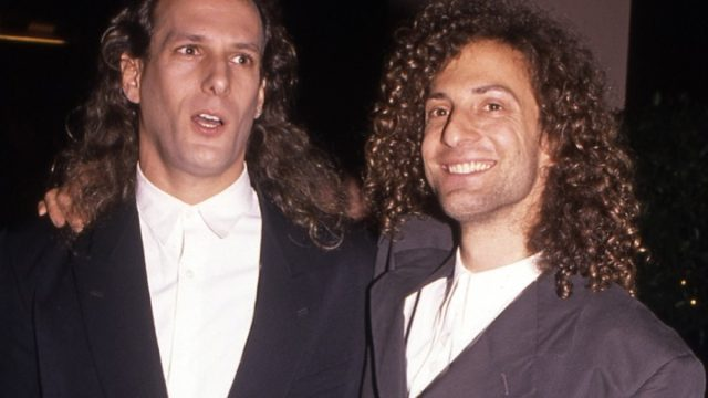 Kenny G and Michael Bolton