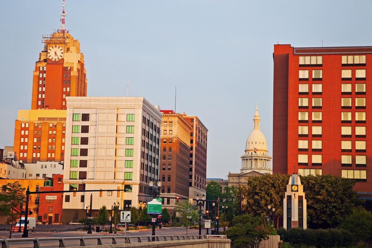 lansing michigan state capitol buildings