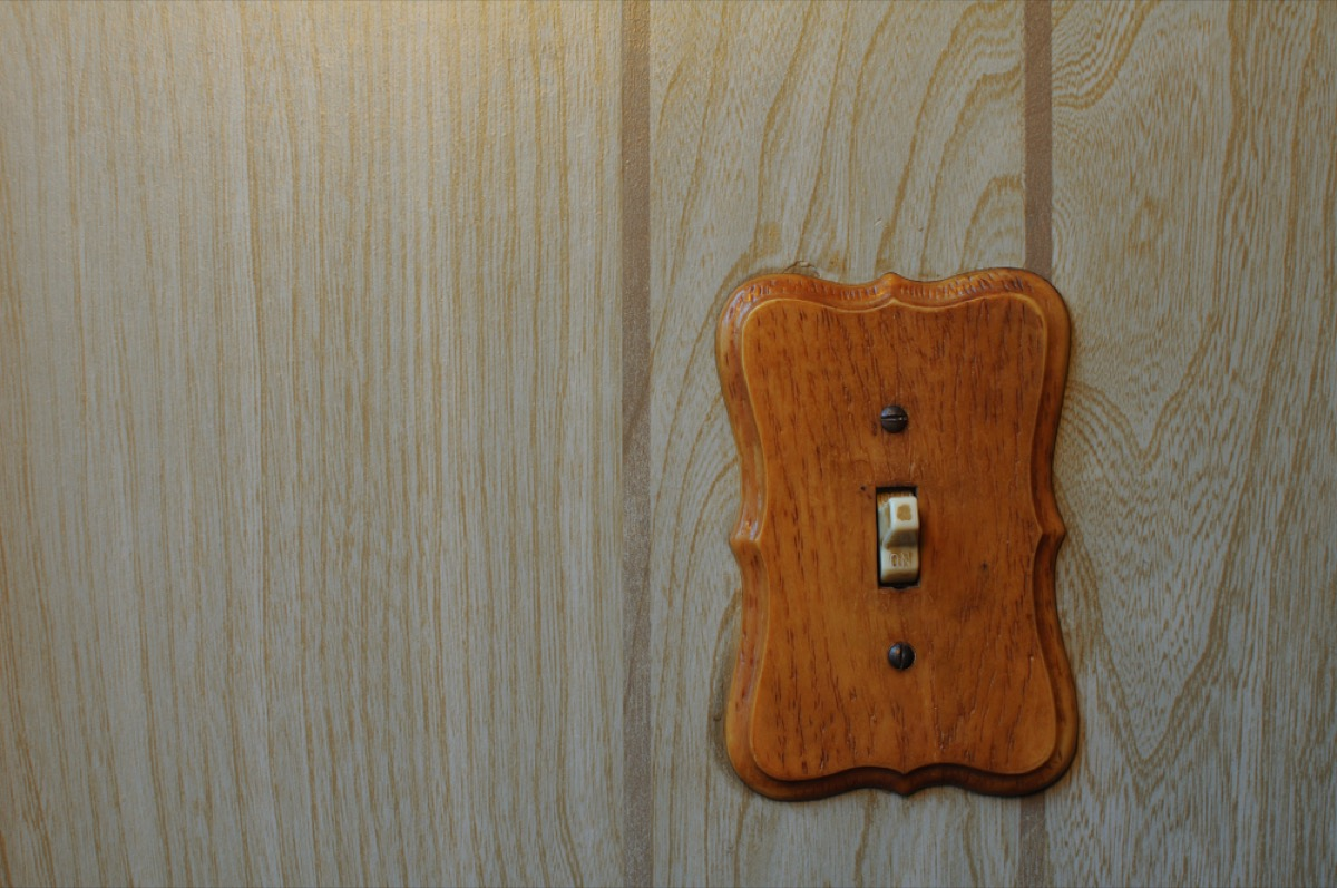 wood light switch cover, things housekeepers hate