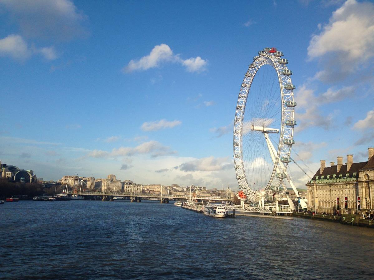 London Eye Ferris Wheel Privately Owned Landmarks
