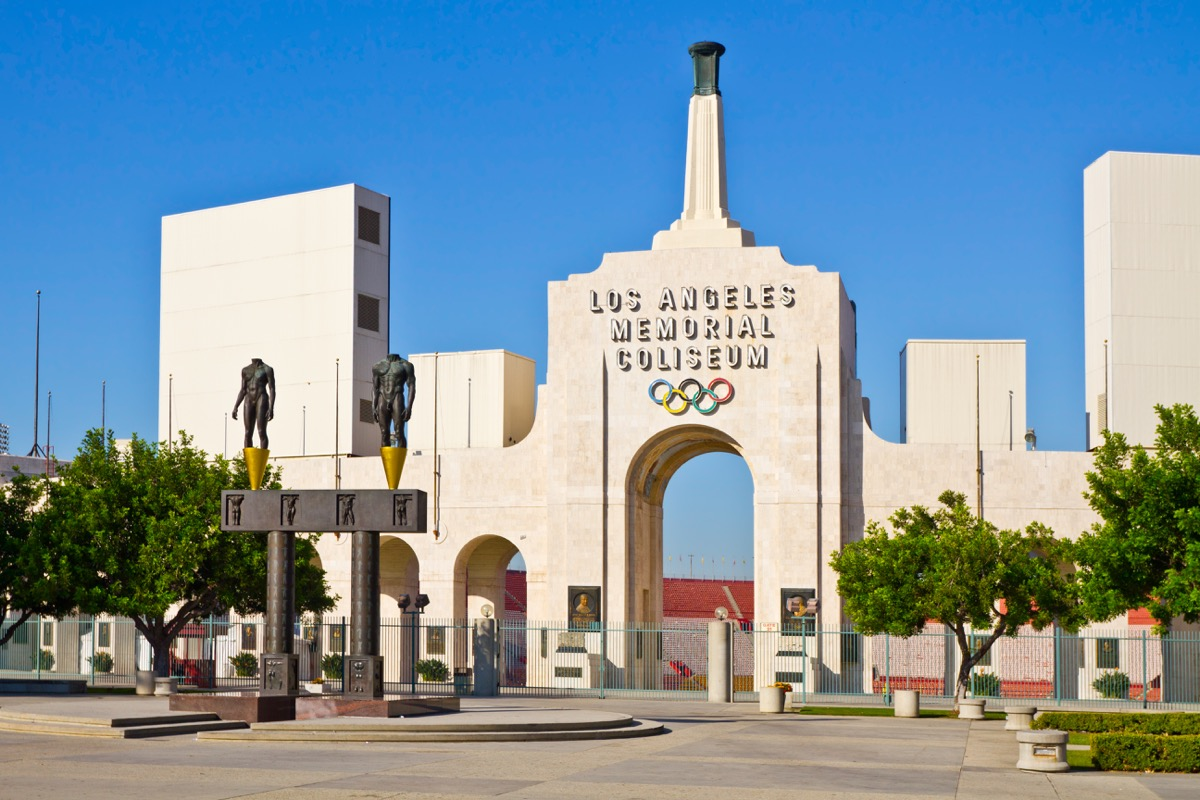 Los Angeles Memorial Coliseum Privately Owned Landmarks
