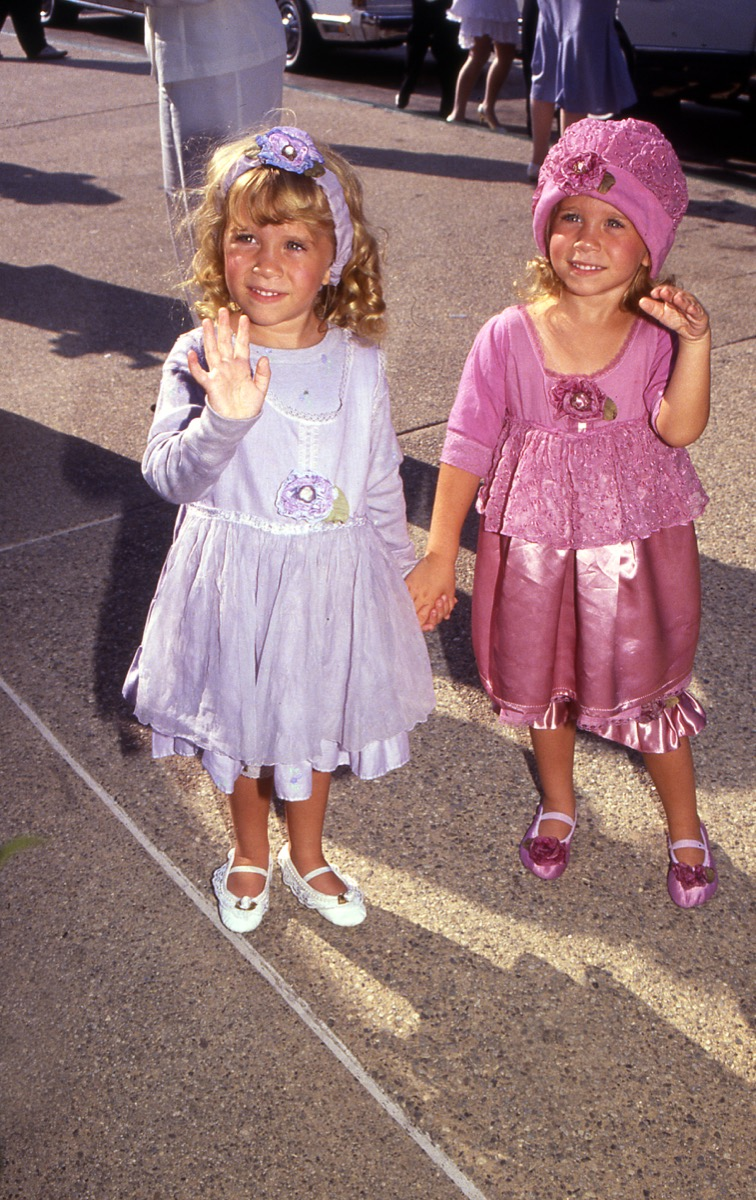 mary kate and ashley olsen, vintage red carpet photos