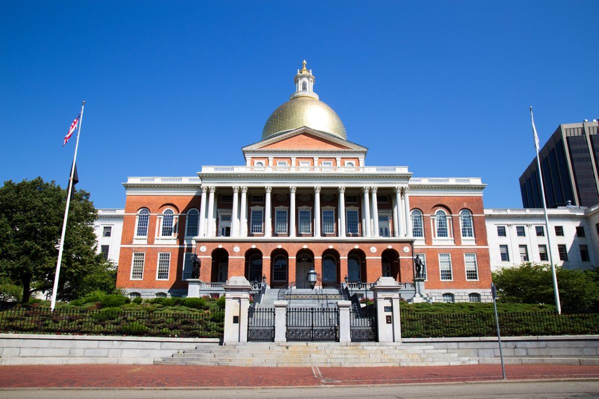 massachusetts state capitol buildings