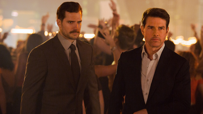 henry cavill and tom cruise in mission impossible fallout