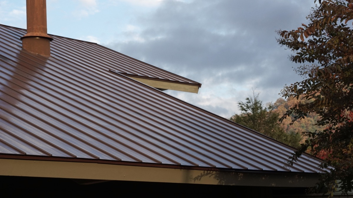 metal roof on home, vintage home upgrades