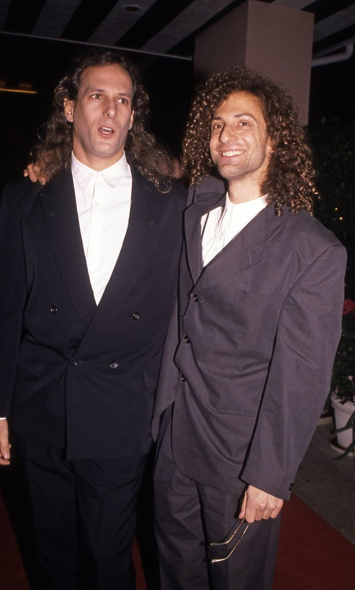 michael bolton and kenny g, vintage red carpet photos