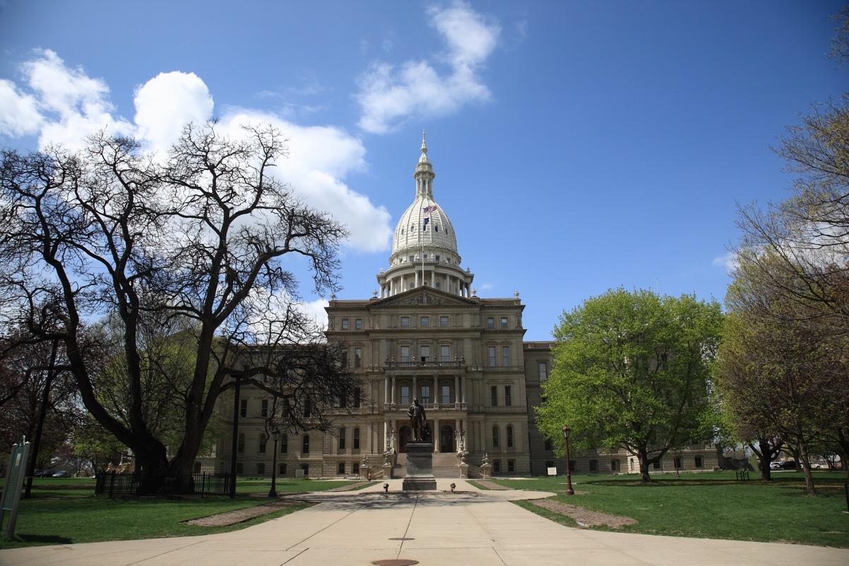 michigan state capitol buildings