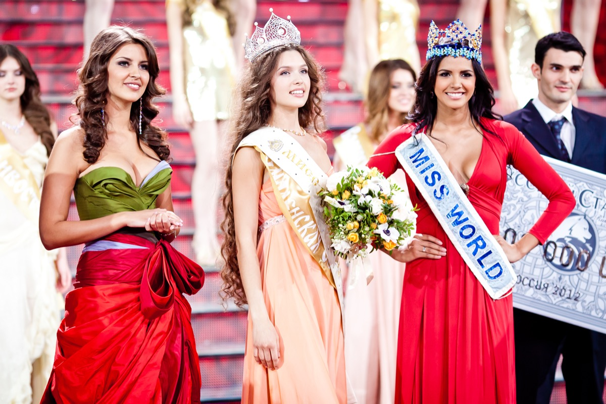 miss russia miss world contestants and winner, pageant facts