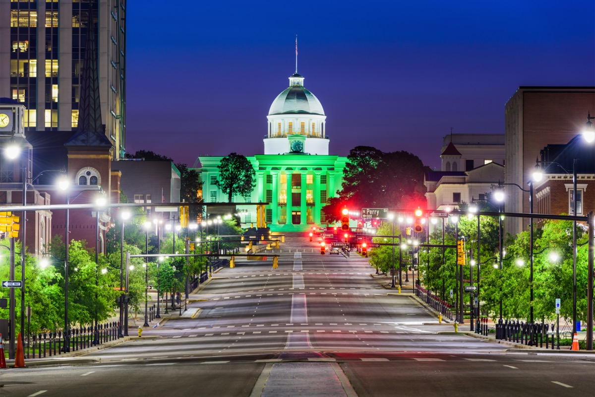 montgomery alabama state capitol buildings