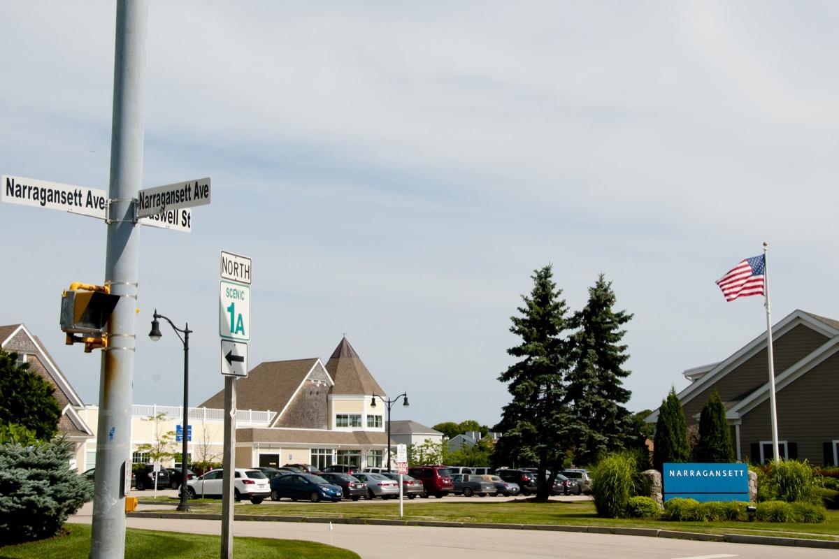 narragansett rhode island, most common street names