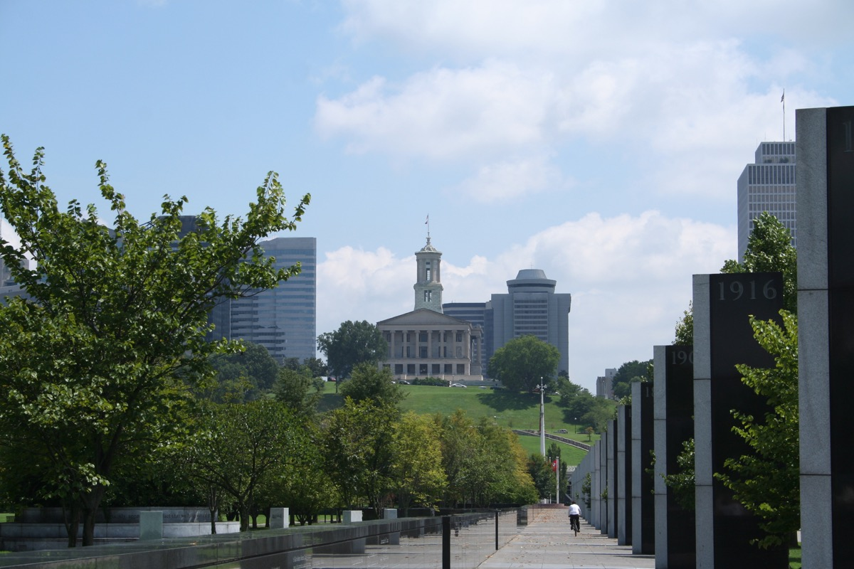 nashville tennessee state capitol buildings