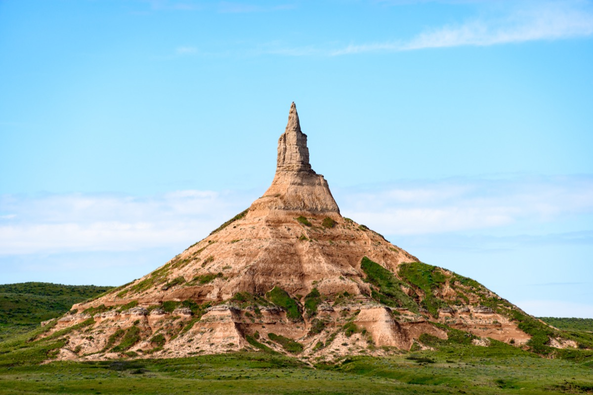 nebraska chimney rock, iconic state photos