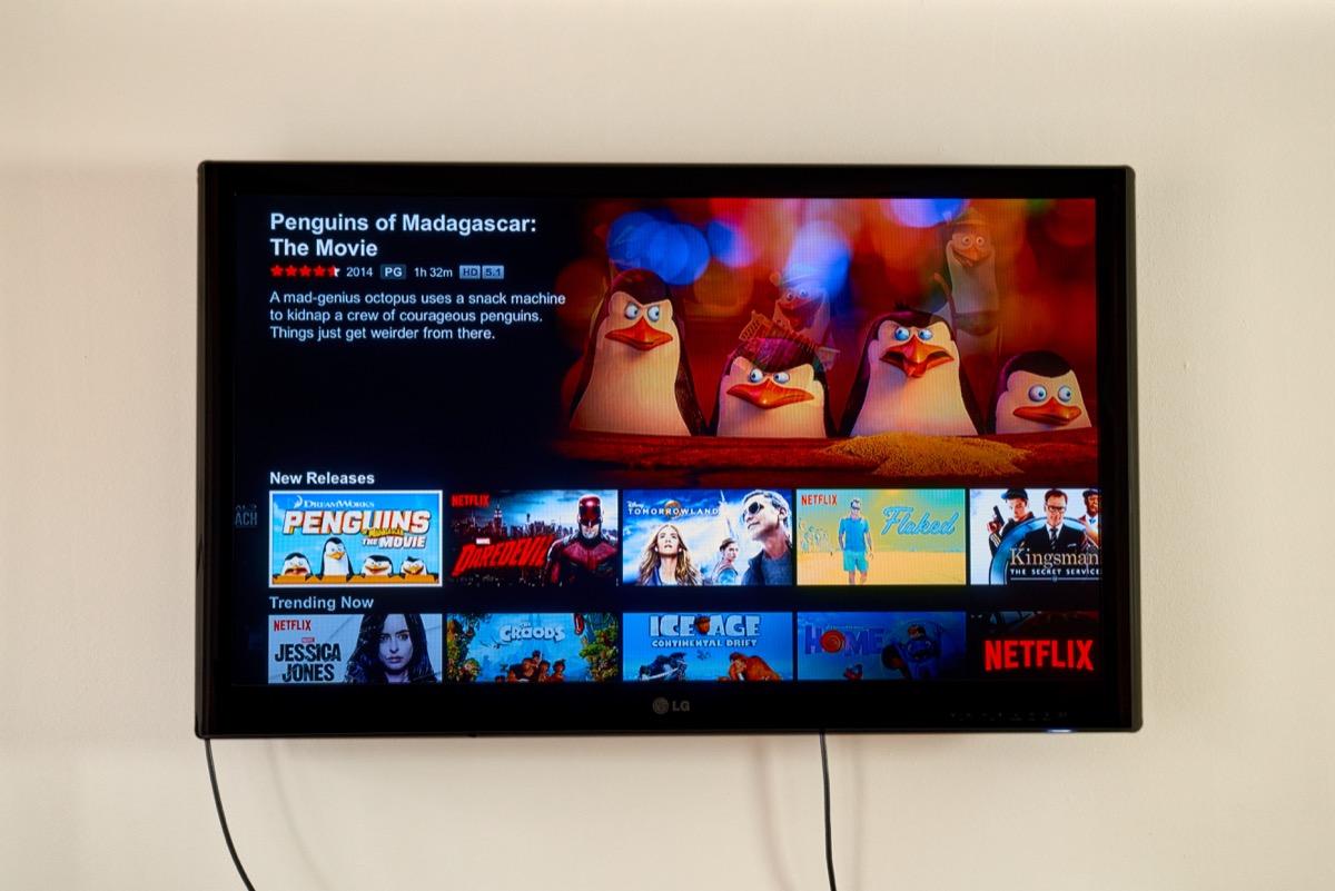 netflix screen on tv, description for movie, netflix secrets