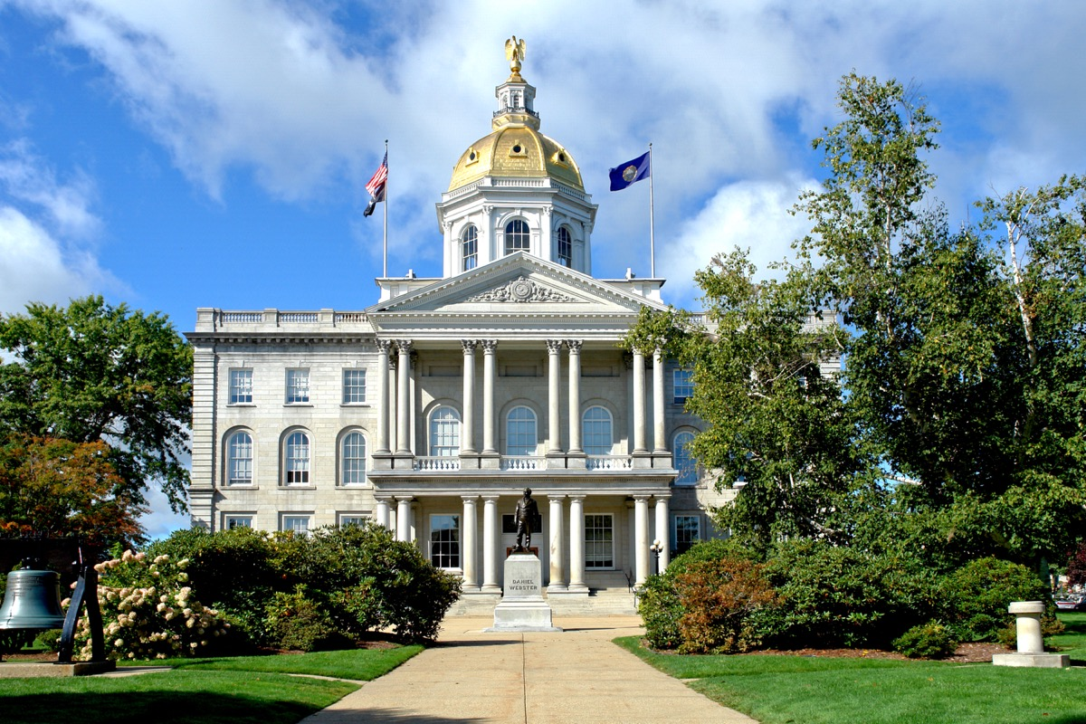 new hampshire state capitol buildings